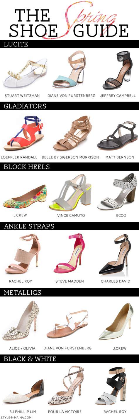 shoe guide naina singla fashion stylist and style expert