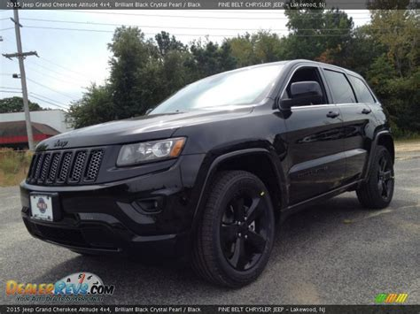 2015 Jeep Grand Altitude Black 2015 Jeep Grand Altitude 4x4 Brilliant Black