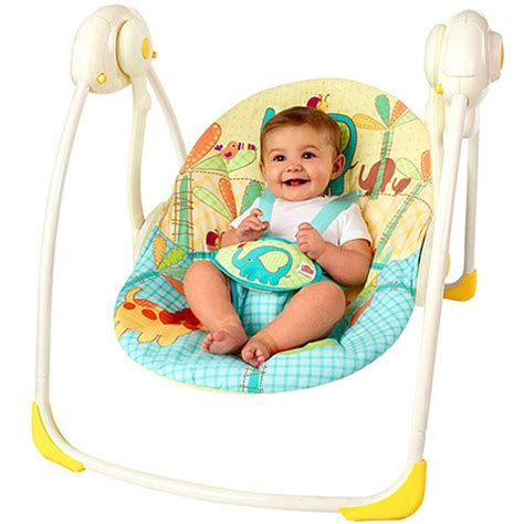bright starts travel swing bright starts sunnyside safari portable swing walmart com