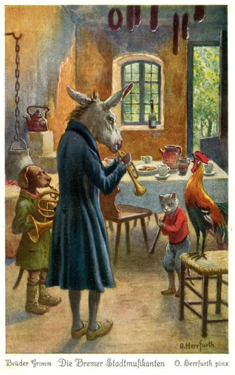 die bremer stadtmusikanten bremer stadtmusikanten on h 228 nsel und gretel fairy tales and children songs