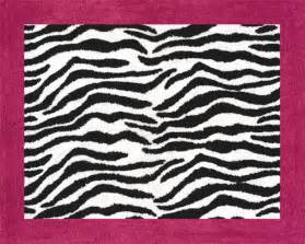 Zebra Print Area Rug Pink Black Zebra Print Rug Soft Accent Floor Area Or Bath Rug