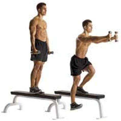 one leg bench squat strong knees for motocross racer x virtual trainer