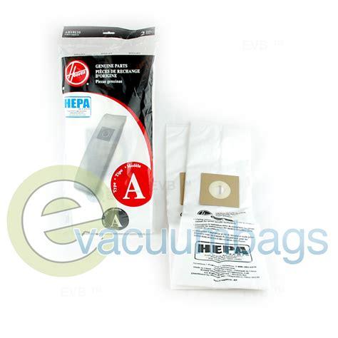 Hoover Vaccum Bags hoover style a vacuum bags 2 pack ah10135