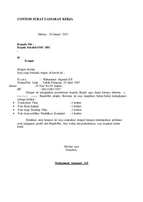 contoh surat lamaran cpns mahkamah agung hakim 28 images contoh