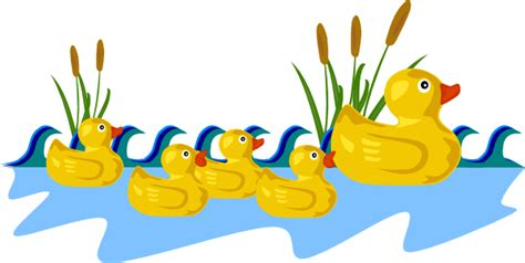 Torune S Assist Duck Family Picks rubber ducky clip clipart best