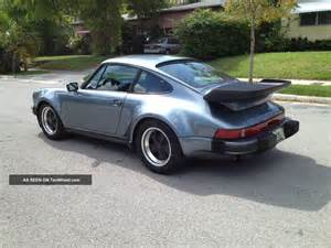 Porsche 911 Wide 1985 Porsche 911 M491 Factory Turbo Look Wide Car
