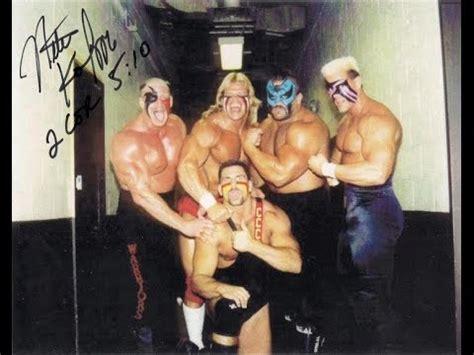 ultimate warrior bench press the road warriors turn on sting doovi