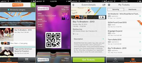 eventbrite layout eventbrite updates its ios app with new layout and