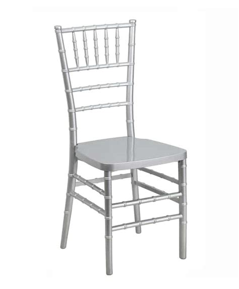 Chair Rentals Atlanta by Silver Chiavari Chair Luxe Event Rental