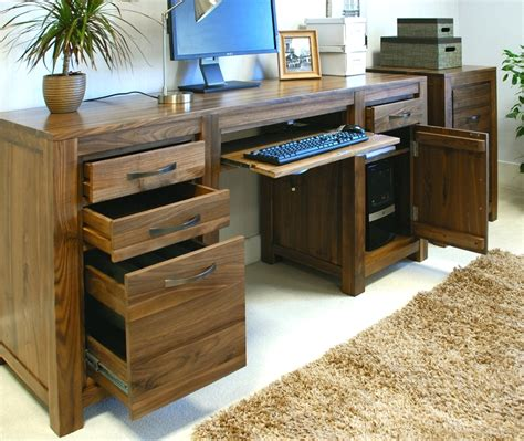 walnut computer desks for home desk custom home office
