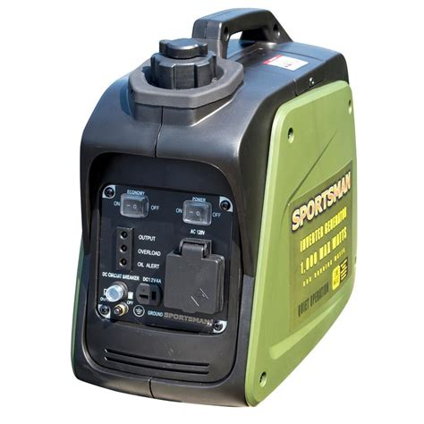sportsman 1000 watt gasoline powered digital inverter