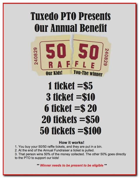 50 50 raffle ticket template free 50 50 raffle ticket template free template resume