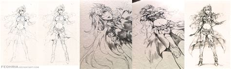 drawing in process sealiah drawing process by feohria on deviantart