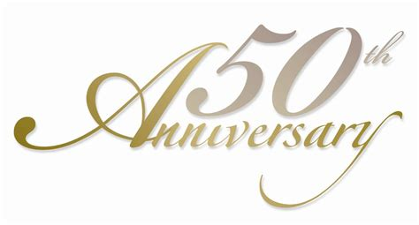 50th Wedding Anniversary Logo Ideas by 50th Anniversary Logo Clip 19