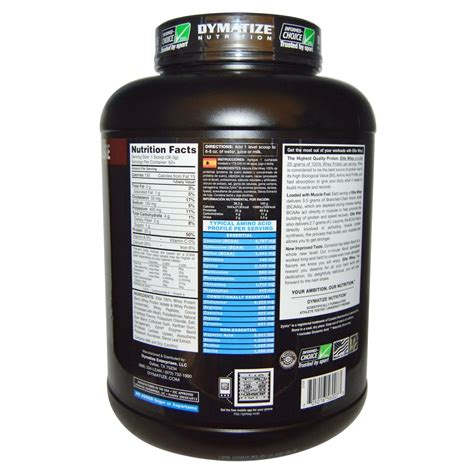 Elite Whey 5 Lbs dymatize nutrition elite whey protein rich chocolate 5 lbs evitamins india