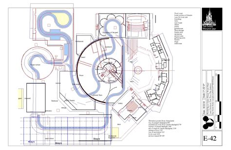 amusement park floor plan wdwthemeparks com news disney blue prints epcot part 2