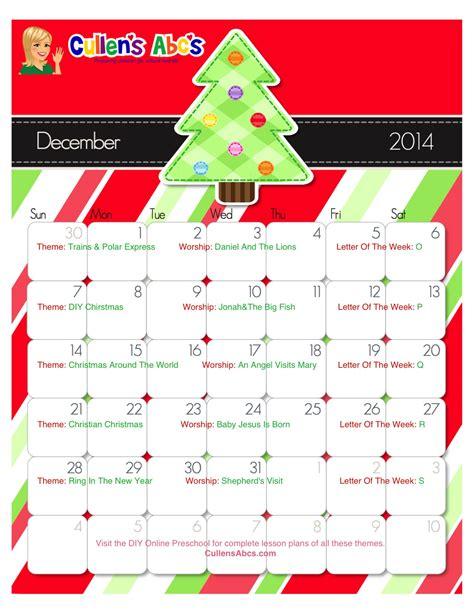 kindergarten themes december preschool calendars online preschool and children s