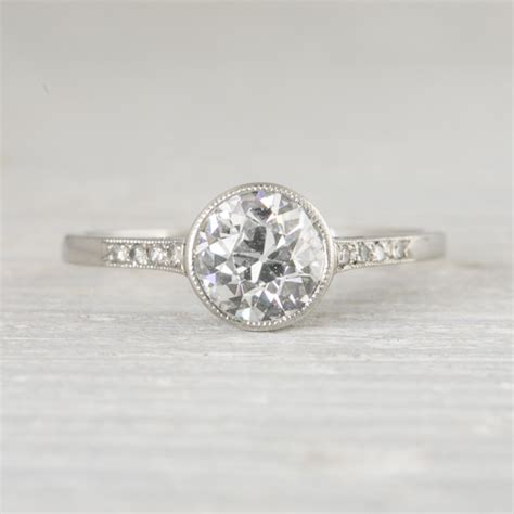 bezel set engagement ring simple or detailed poll