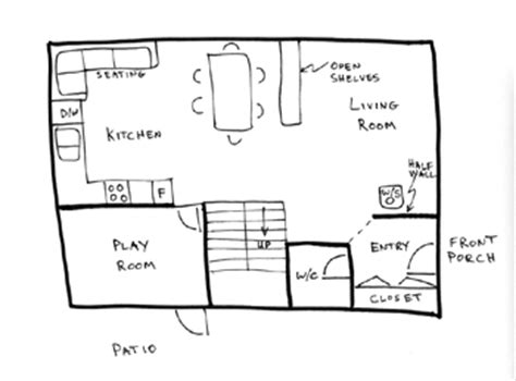 how to draw a kitchen floor plan draw floor plans