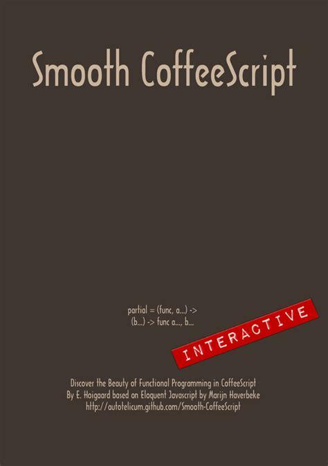 node js coffeescript tutorial interactive smooth coffeescript