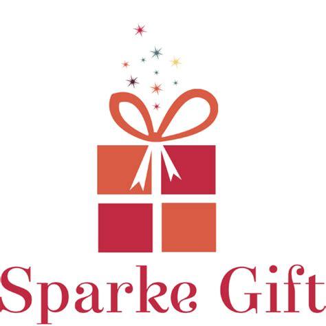 logo giftware sparkle gift logo design