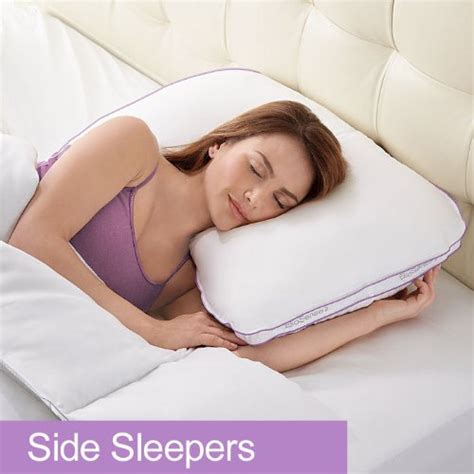 Neck Pillow Side Sleeper by Best Pillow For Side Sleepers With Broad Shoulders Therapeutic Pillow For Side Sleepers On