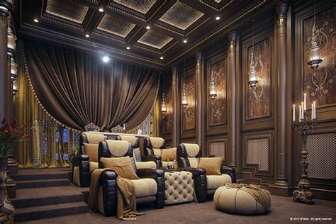 home theater decor exotic house interior designs luxury home theater on behance