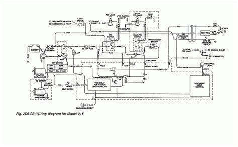 deere 316 wiring diagram pdf wiring diagram and