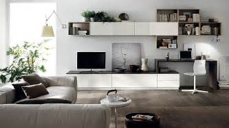 Livinf Spaces Posh Minimalist Living Spaces Charm With Geometric Lines