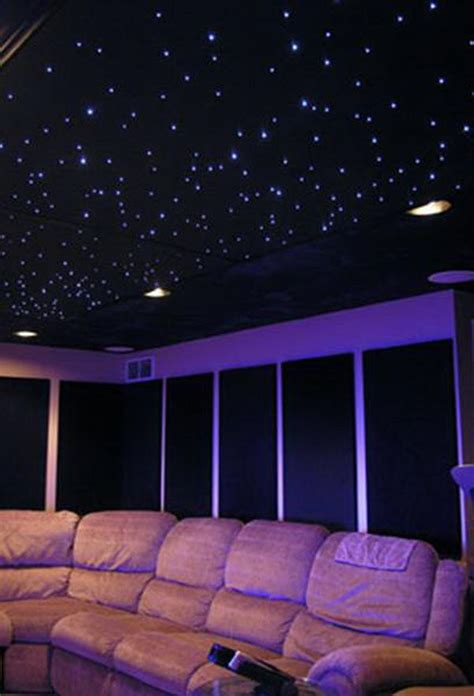 fiber optic bedroom lighting 20 cool basement ceiling ideas hative
