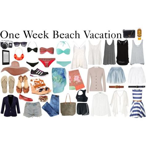 Tropical Vacation Wardrobe by Meer Dan 1000 Idee 235 N Vakantie Workout Op
