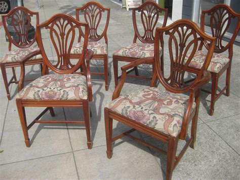 Duncan Phyfe Chair by Uhuru Furniture Collectibles Sold Set Of Six Duncan