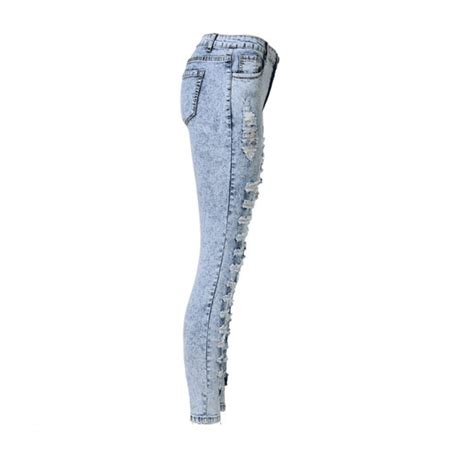 light blue ripped skinny jeans light blue distressed ripped skinny jeans