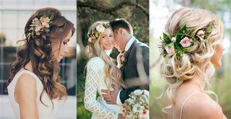 acconciature sposa con fiori acconciature da sposa con fiori tra i capelli foto 10 38