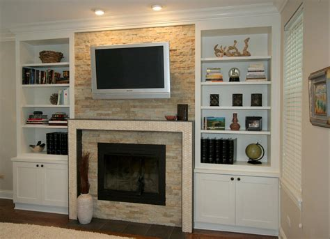 Built In Cabinets Around Fireplace by Fireplace Design Chicago Built Ins And Custom Cabinets