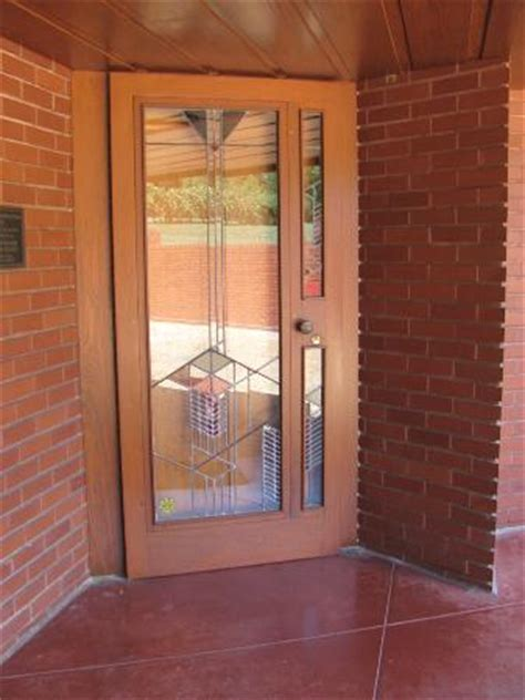 Wright Door by Front Door Glass Picture Of Frank Lloyd Wright House