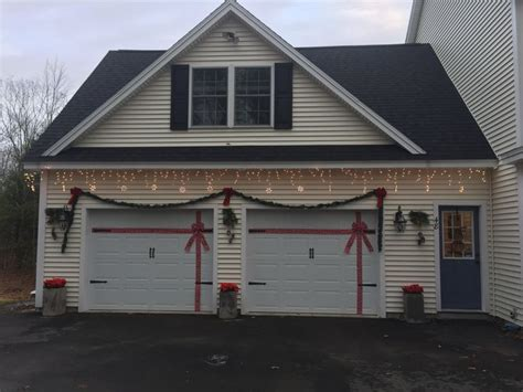 garage door christmas lights 17 best images about holiday garage decoration ideas on