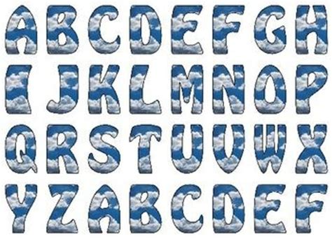 printable alphabet letters for display 17 best images about lettering on pinterest cartoon