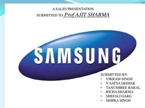 samsung presentation template samsung ppt