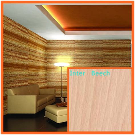 china acoustic wood veneer ceiling panels for decorations