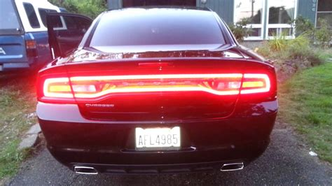 dodge charger rear lights 2012 dodge charger with sequential taillights