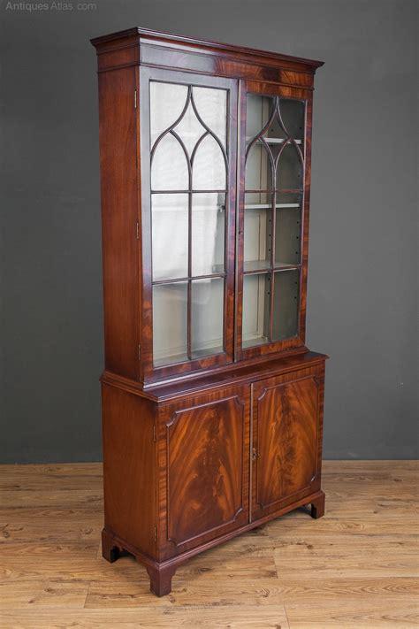 Mahogany Cupboard - antiques atlas mahogany bookcase cabinet