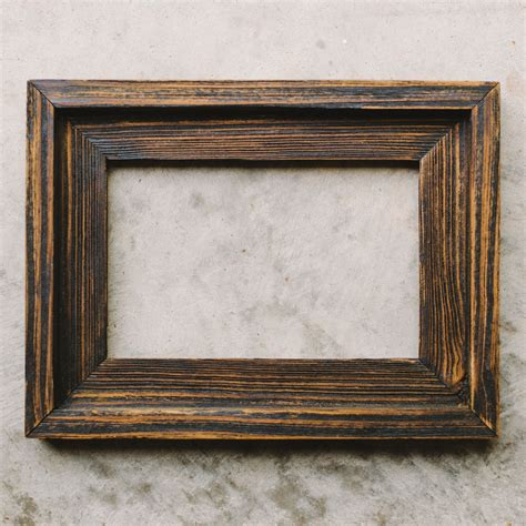 Wood Frame by Handcrafted Picture Frames For Sale Chirpwood Llc