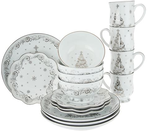 temp tations metallic christmas eve or winter 16pc