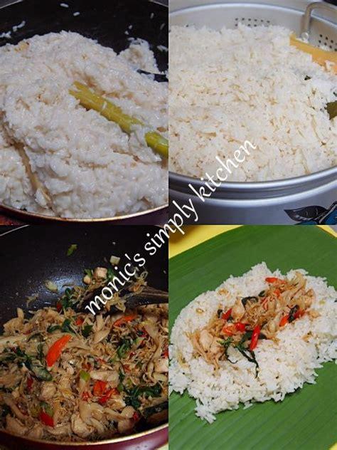 nasi bakar teri ayam ncc nasi bakar food indonesian food