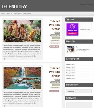 templates blogger technology technology blogger template 2014 free download