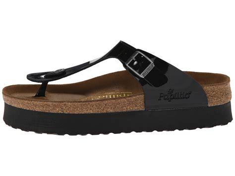 platform birkenstock sandals birkenstock gizeh platform by papillio zappos free