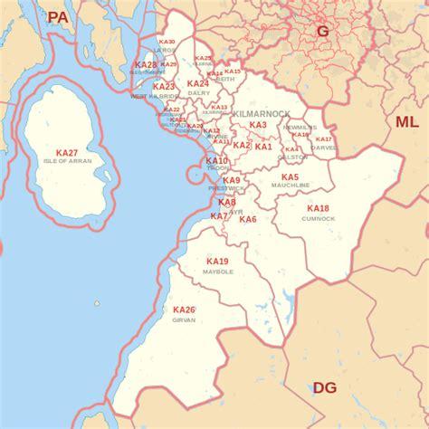 ka postcode area