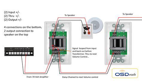 70 volt speaker wiring diagram 70 volt speaker with volume wiring diagram car speaker diagram elsavadorla