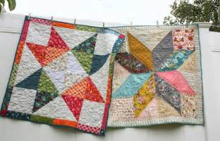 Easy diy modern star baby quilt tutorial
